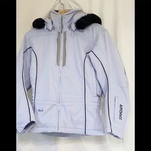 Spider Light Blue Ski Jacket 4 Snow